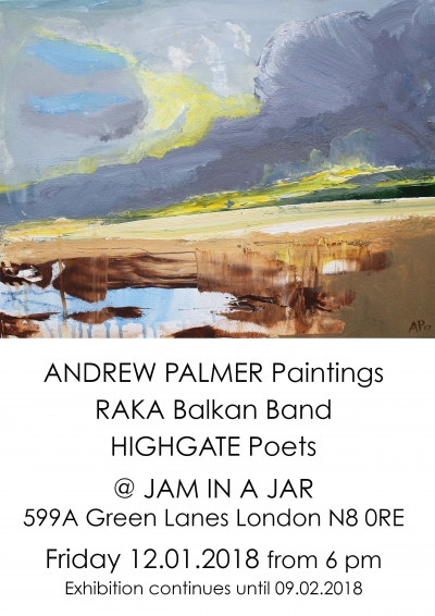 Andrew Palmer Paintings Raka Highgate Poets